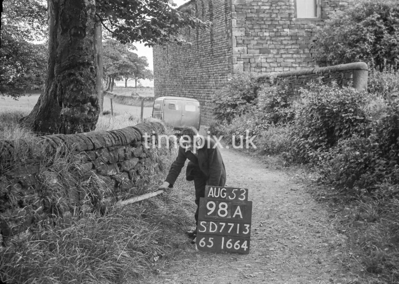 SD771398A, Ordnance Survey Revision Point photograph in Greater Manchester