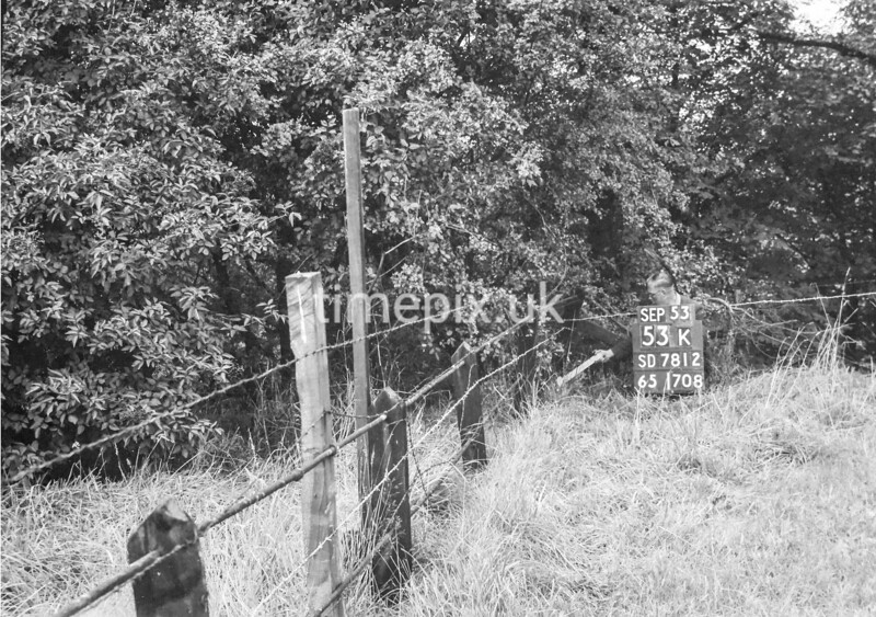 SD781253K, Ordnance Survey Revision Point photograph in Greater Manchester