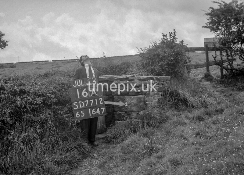 SD771216A, Ordnance Survey Revision Point photograph in Greater Manchester