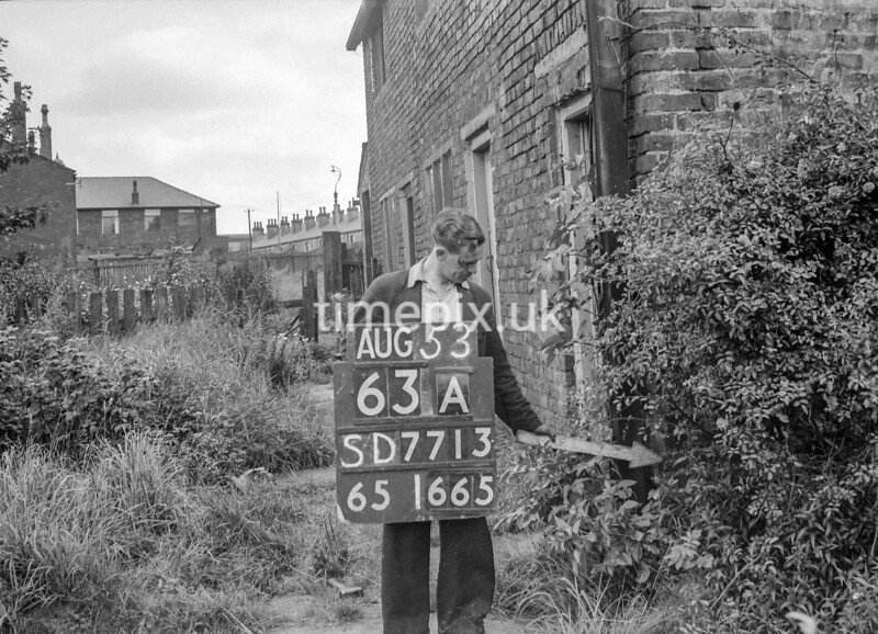 SD771363A, Ordnance Survey Revision Point photograph in Greater Manchester