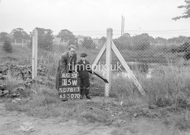 SD781315W, Ordnance Survey Revision Point photograph in Greater Manchester