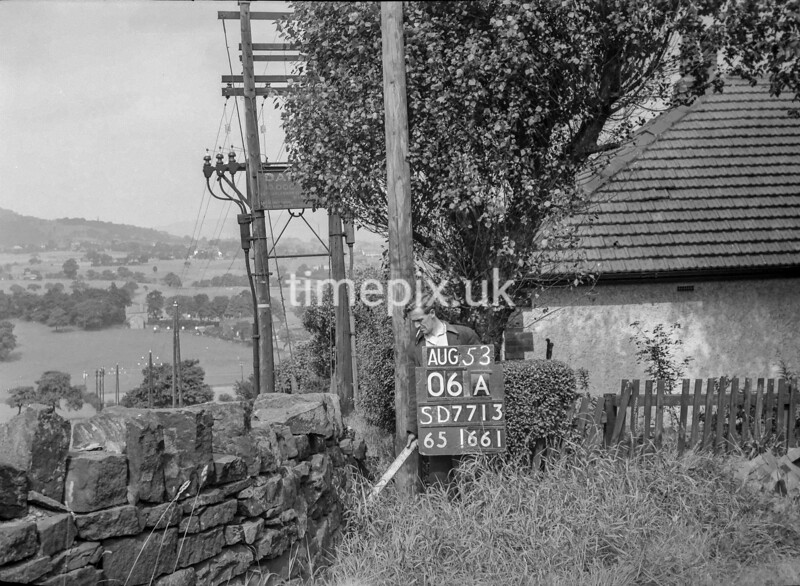 SD771306A, Ordnance Survey Revision Point photograph in Greater Manchester