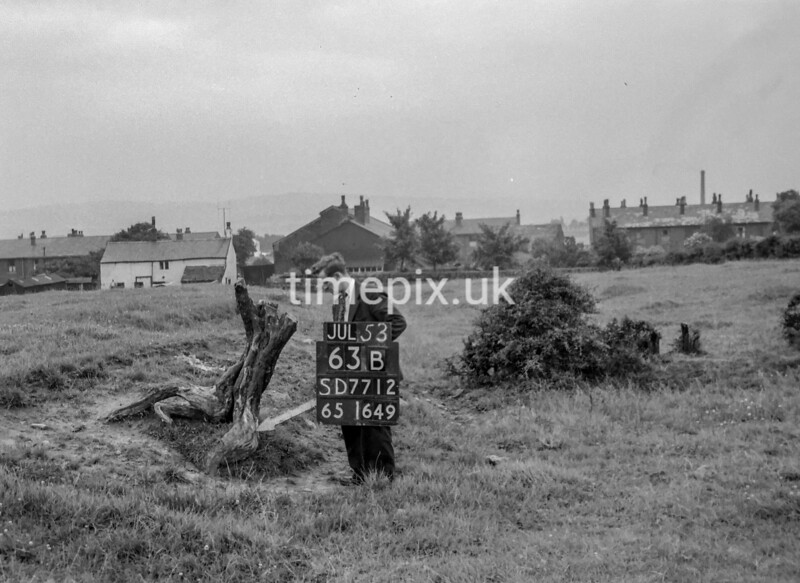 SD771263B, Ordnance Survey Revision Point photograph in Greater Manchester