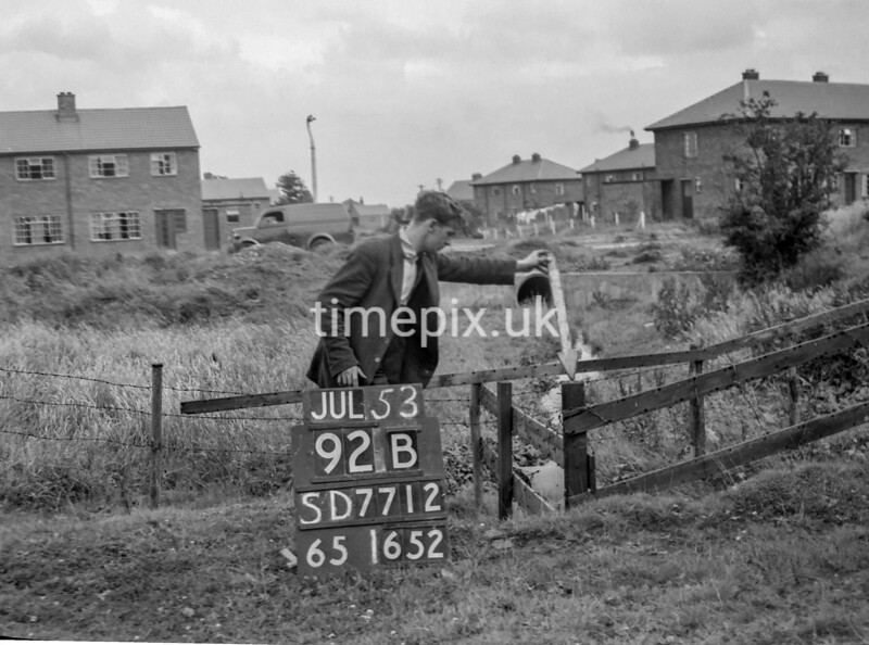 SD771292B, Ordnance Survey Revision Point photograph in Greater Manchester