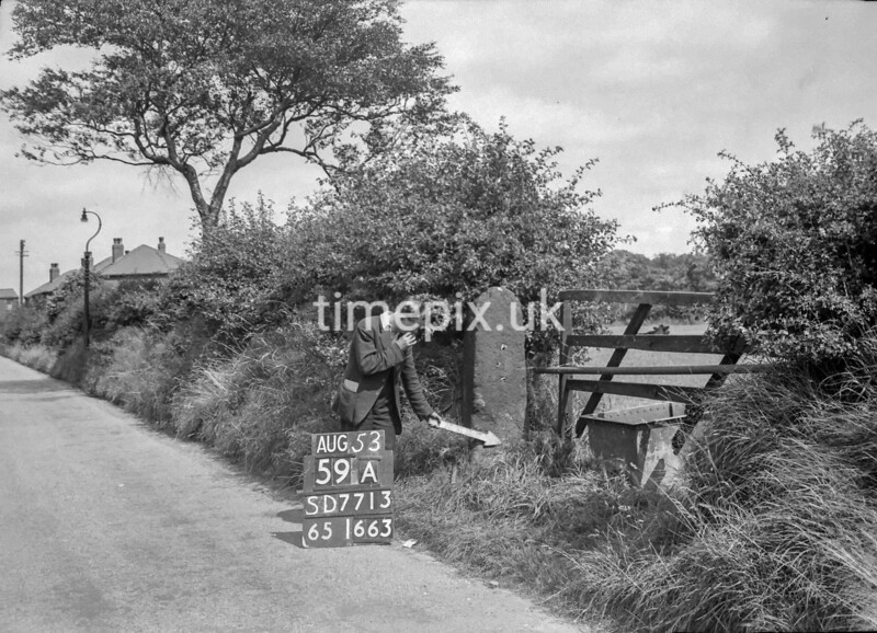 SD771359A, Ordnance Survey Revision Point photograph in Greater Manchester