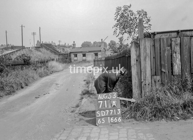 SD771371A, Ordnance Survey Revision Point photograph in Greater Manchester