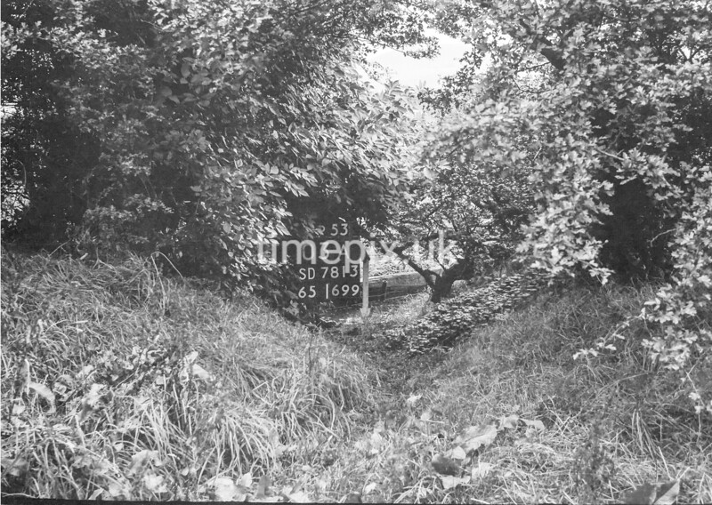 SD781303A, Ordnance Survey Revision Point photograph in Greater Manchester