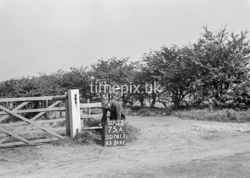 SD781375A, Ordnance Survey Revision Point photograph in Greater Manchester