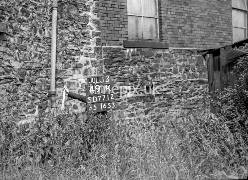 SD771249K, Ordnance Survey Revision Point photograph in Greater Manchester
