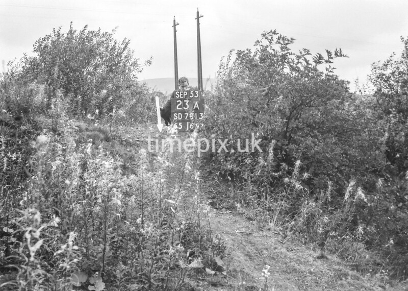SD781323A1, Ordnance Survey Revision Point photograph in Greater Manchester