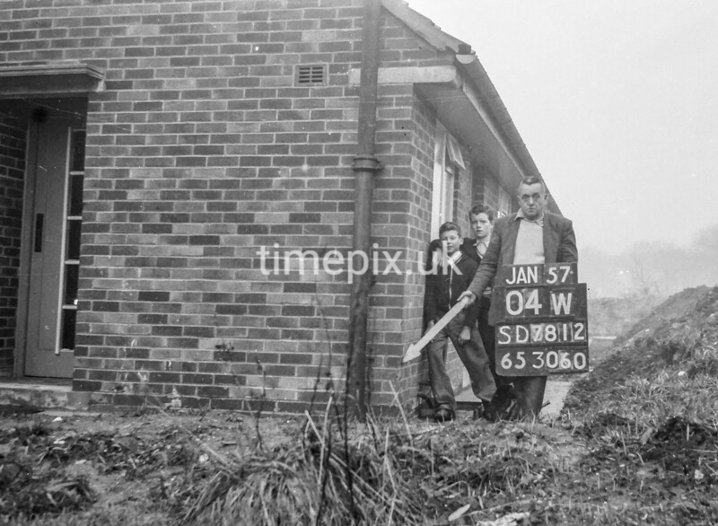 SD781204W, Ordnance Survey Revision Point photograph in Greater Manchester