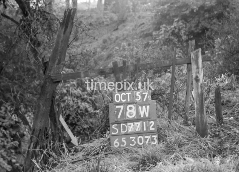 SD771278W, Ordnance Survey Revision Point photograph in Greater Manchester