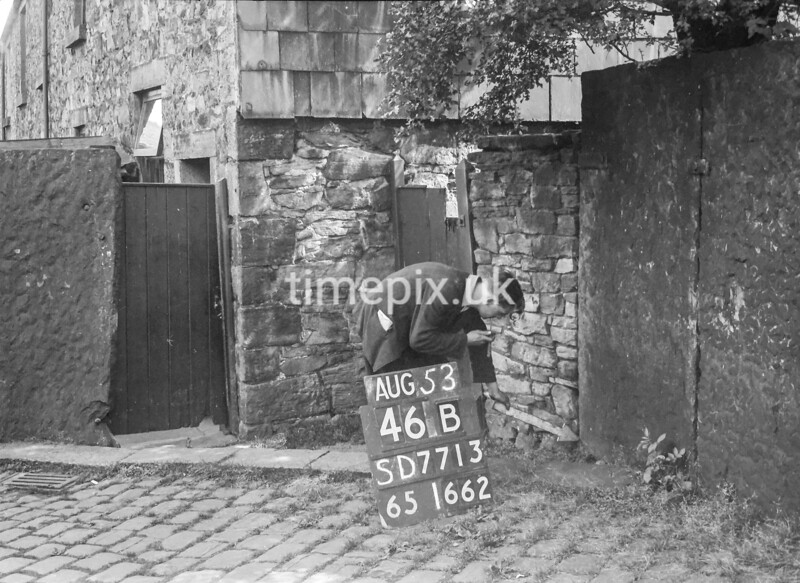 SD771346B, Ordnance Survey Revision Point photograph in Greater Manchester