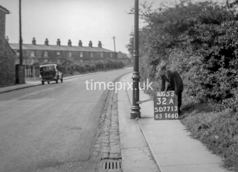 SD771332A, Ordnance Survey Revision Point photograph in Greater Manchester