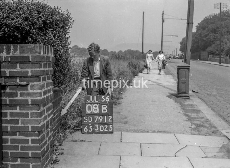 SD791208B, Ordnance Survey Revision Point photograph in Greater Manchester