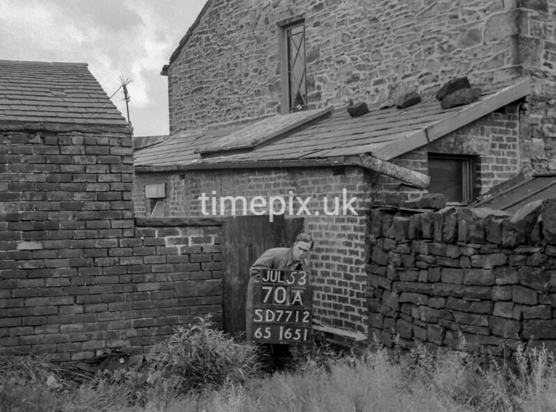 SD771270A, Ordnance Survey Revision Point photograph in Greater Manchester