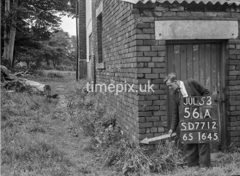 SD771256A, Ordnance Survey Revision Point photograph in Greater Manchester