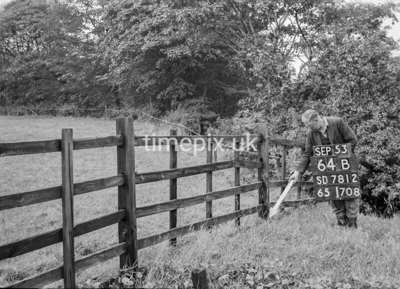 SD781264B, Ordnance Survey Revision Point photograph in Greater Manchester