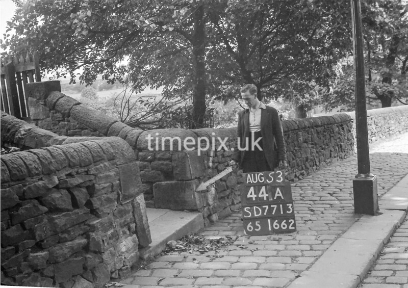 SD771344A, Ordnance Survey Revision Point photograph in Greater Manchester