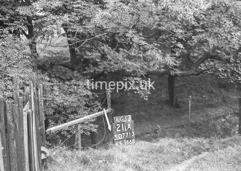 SD771321A, Ordnance Survey Revision Point photograph in Greater Manchester