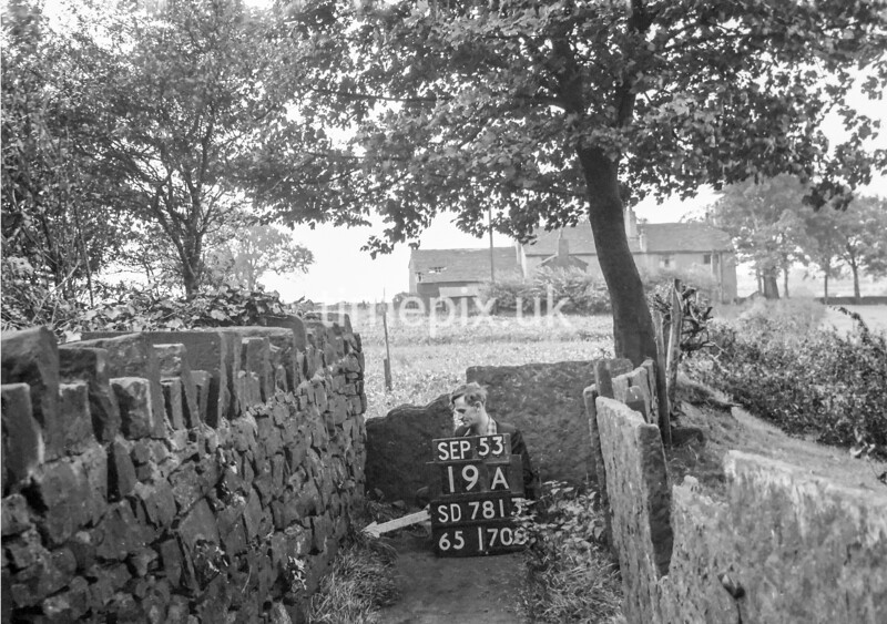 SD781319A, Ordnance Survey Revision Point photograph in Greater Manchester