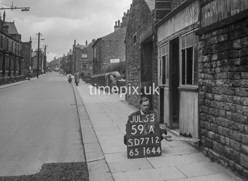 SD771259A, Ordnance Survey Revision Point photograph in Greater Manchester
