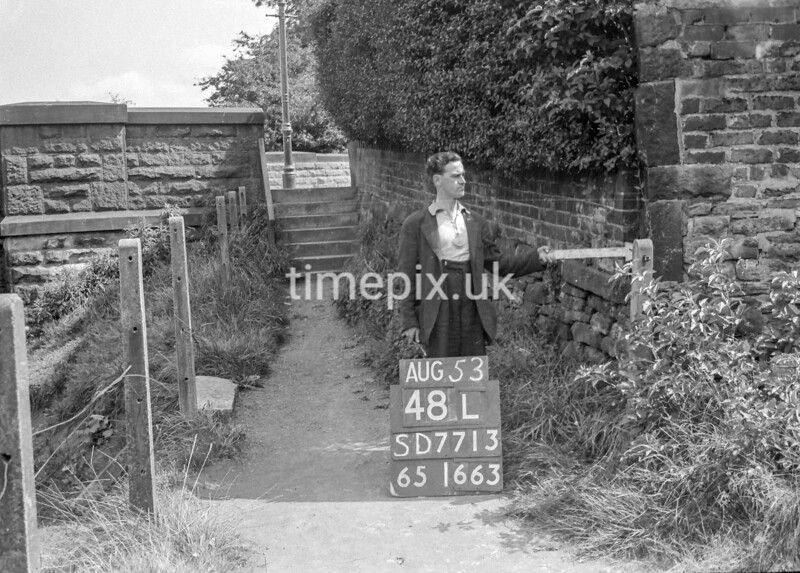 SD771348L, Ordnance Survey Revision Point photograph in Greater Manchester