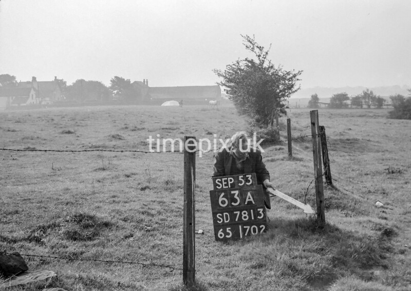 SD781363A, Ordnance Survey Revision Point photograph in Greater Manchester