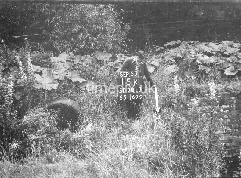 SD781315K1, Ordnance Survey Revision Point photograph in Greater Manchester
