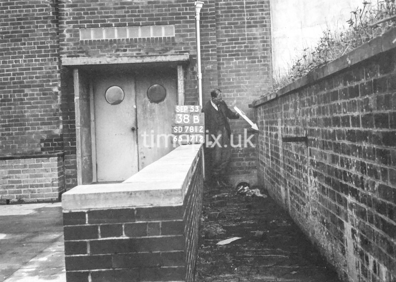 SD781238B, Ordnance Survey Revision Point photograph in Greater Manchester