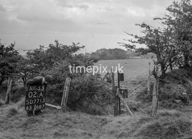 SD771302A, Ordnance Survey Revision Point photograph in Greater Manchester