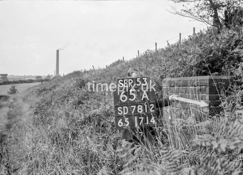 SD781265A, Ordnance Survey Revision Point photograph in Greater Manchester