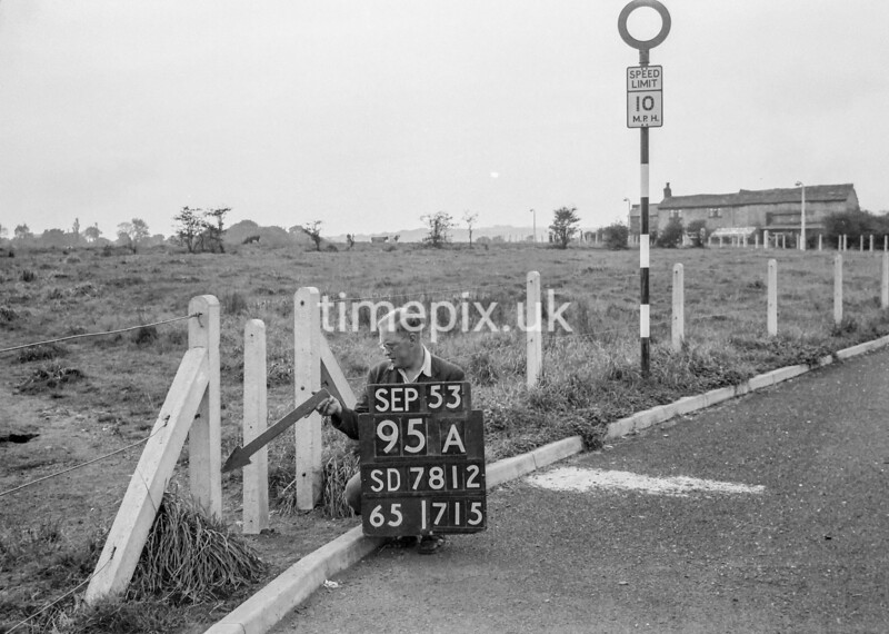 SD781295A, Ordnance Survey Revision Point photograph in Greater Manchester