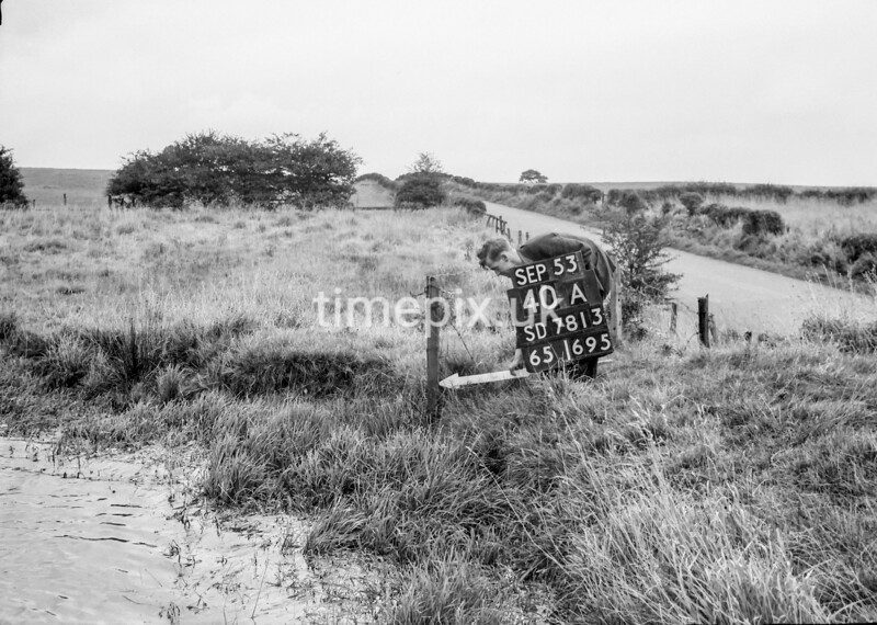 SD781340A, Ordnance Survey Revision Point photograph in Greater Manchester