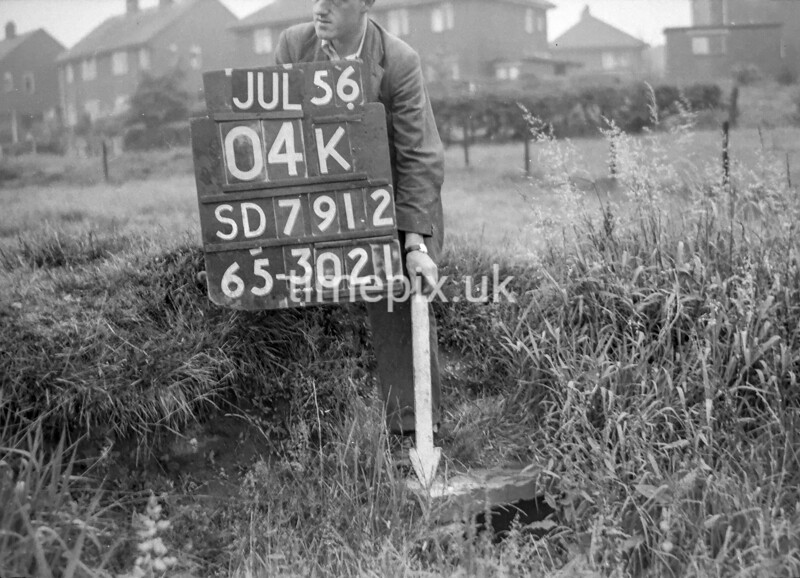 SD791204K, Ordnance Survey Revision Point photograph in Greater Manchester