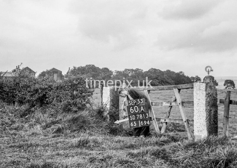 SD781360A, Ordnance Survey Revision Point photograph in Greater Manchester