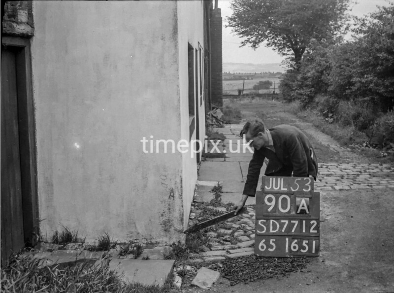 SD771290A, Ordnance Survey Revision Point photograph in Greater Manchester