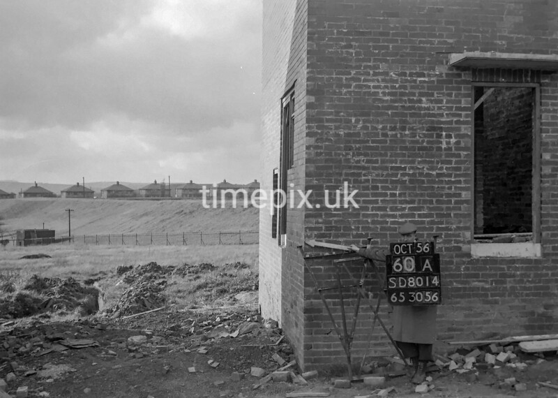 SD801460A, Ordnance Survey Revision Point photograph in Greater Manchester