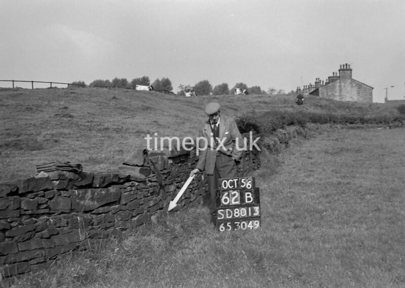 SD801362B, Ordnance Survey Revision Point photograph in Greater Manchester