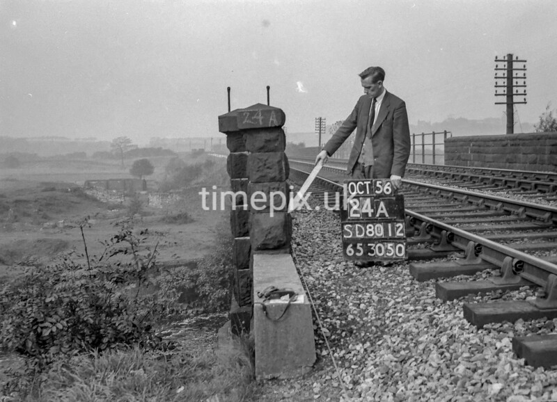 SD801224A, Ordnance Survey Revision Point photograph in Greater Manchester