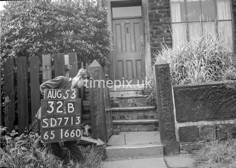 SD771332B, Ordnance Survey Revision Point photograph in Greater Manchester