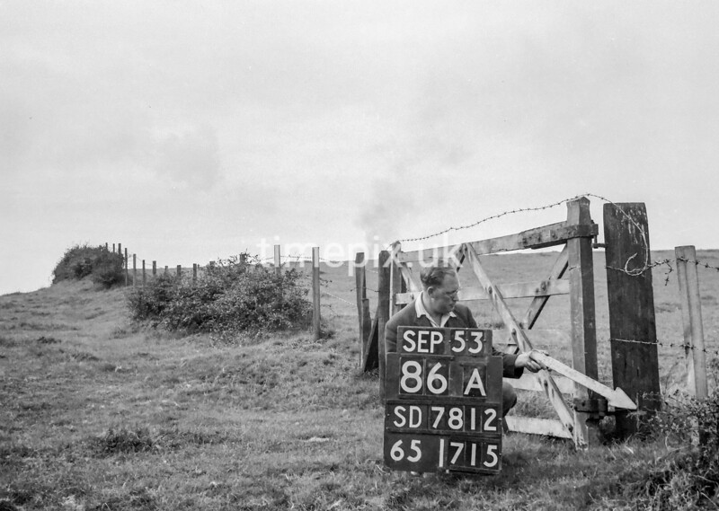 SD781286A, Ordnance Survey Revision Point photograph in Greater Manchester