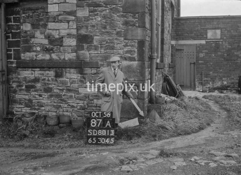 SD801387A, Ordnance Survey Revision Point photograph in Greater Manchester