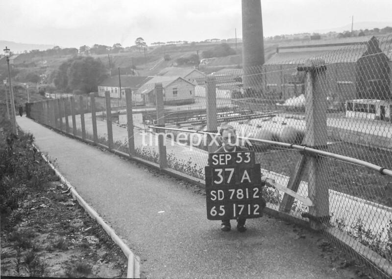 SD781237A, Ordnance Survey Revision Point photograph in Greater Manchester