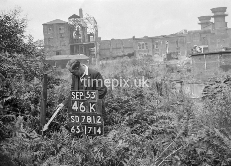 SD781246K, Ordnance Survey Revision Point photograph in Greater Manchester