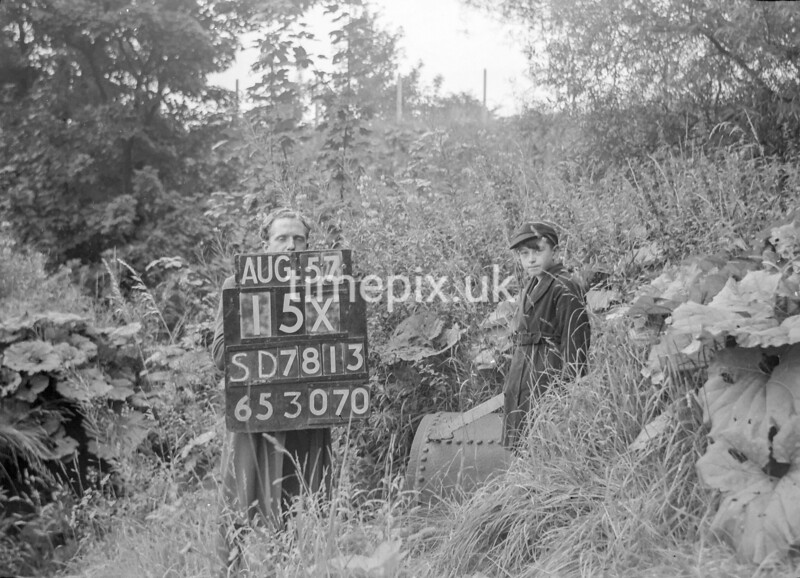 SD781315X, Ordnance Survey Revision Point photograph in Greater Manchester