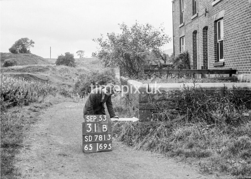 SD781331B, Ordnance Survey Revision Point photograph in Greater Manchester