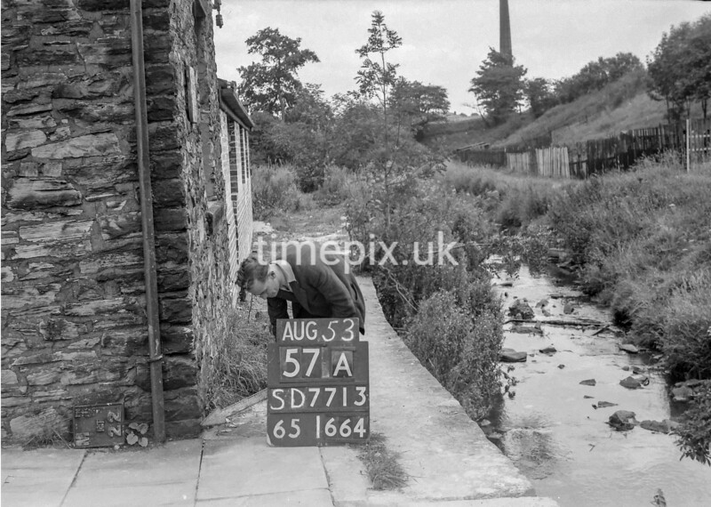 SD771357A, Ordnance Survey Revision Point photograph in Greater Manchester