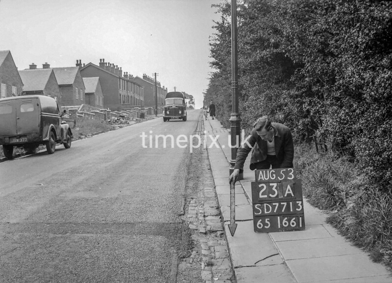 SD771323A, Ordnance Survey Revision Point photograph in Greater Manchester