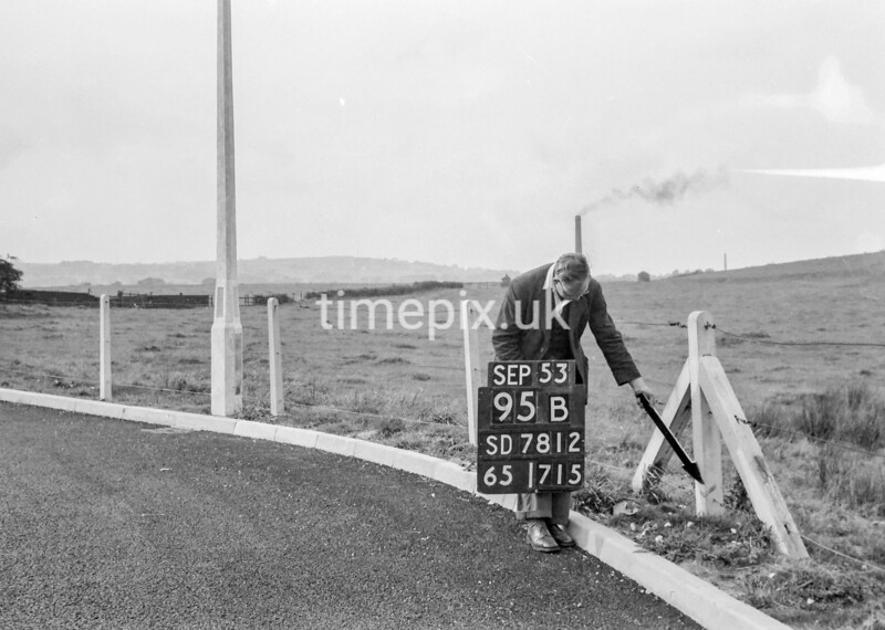 SD781295B, Ordnance Survey Revision Point photograph in Greater Manchester